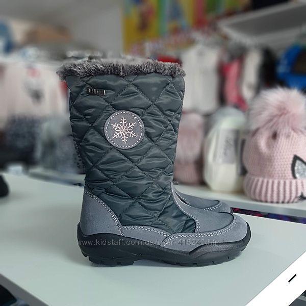 Зимние сапожки Cortina на девочку 32 33 34 35 36 размер
