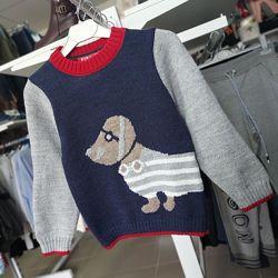 Очень мягкий и классный свитер Pepe  на мальчика от 1 года до 5 лет