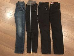 Брюки , джинсы мальчику  размер 134