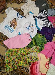 Пакет вещей на девочку р 116 - 122