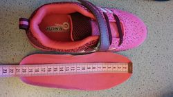 кроссовки 20 см стельки заменены на обычные кожаные с супинатором