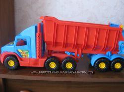 Самосвал-грузовик Wader серии Super Truck, длина 77 см