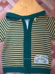 Шерстяная куртка кофта на подкладке Дайс в наличии 86-92 и 98-104