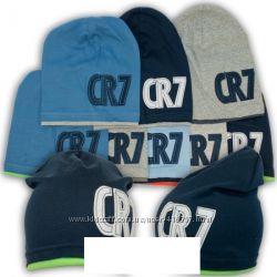шапка трикотажная для мальчика 52-54 см