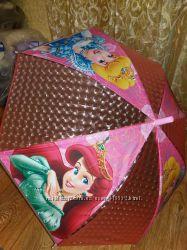 Зонтики 66 см длина для девочек полуавтомат