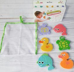 Мини коврик Kinderenok для купания в ванной
