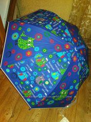 Зонтики Совы Мишки 66 см длина полуавтомат