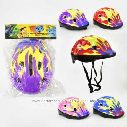 Шлем защитный для велосипедов роликов самокатов беговелов скейтов