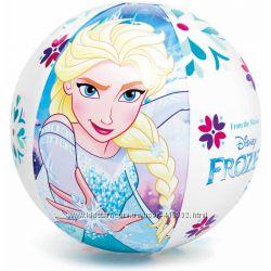 Intex Мяч надувной Фрозен Тачки  51, 61 см, в коробке