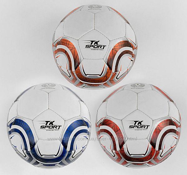 Мяч футбольный TK Sport , матовый, 420-430 гр, ручной шов Пакестан