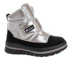 Зимние ботинки на шерсти для девочки ТМ Сказка