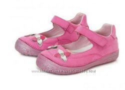 Кожаные туфли D. D. Step