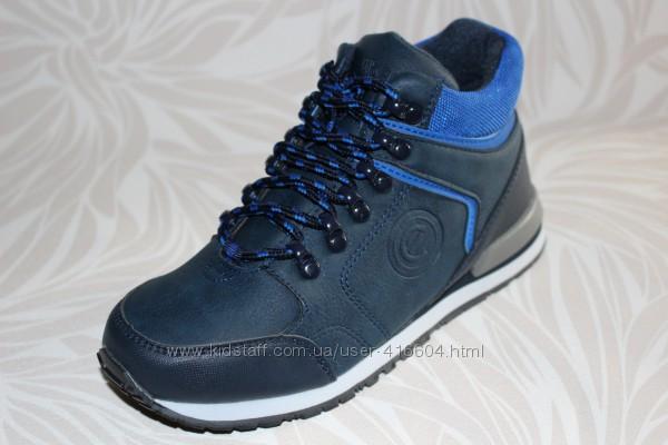 Демисезонные ботинки с утеплителем для мальчика TM Clibee P272
