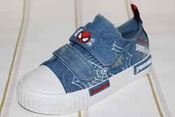 Стильные кеды для мальчика Человек-паук Spider man