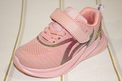 Текстильные кроссовки для девочки TM Clibee F922