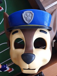 Маска гонщика щенячий патруль