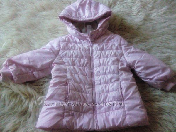 Красивая демисезонная куртка Baby Club 86р