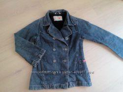Джинсовый пиджак- куртка 122-128р