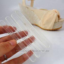 Гелевые, силиконовые вкладыши от натирания в летнюю обувь