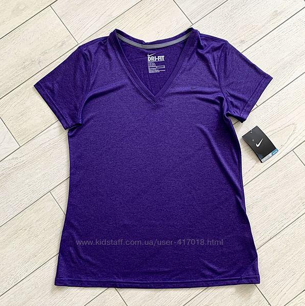 Женская спортивная футолка Nike dri-fit L-XL оригинал