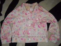 Котоновый пиджак на 2-3 года