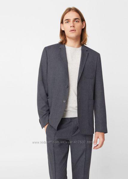 Пиджак манго в стиле кэжуал размер xl-xxl