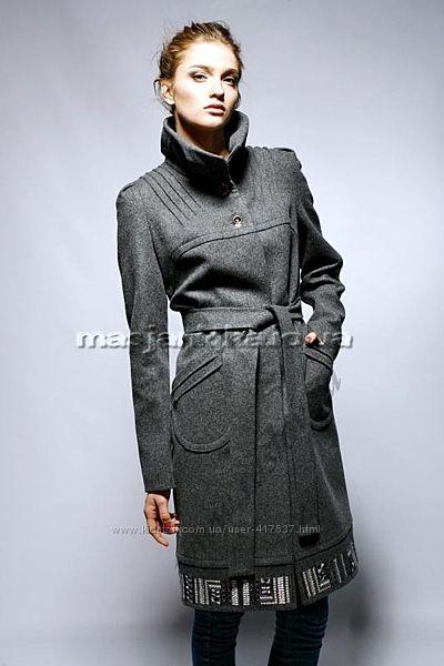 Пальто раслов raslov шерсть с поясом