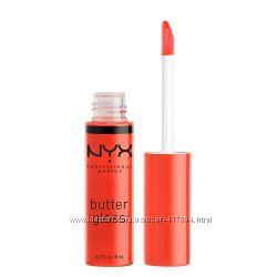 NYX блеск для губ Butter Lip Gloss BLG 06  Peach Cobler