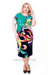 Туніки, сукні Queen size - великі розміри. Замовлення 15 червня