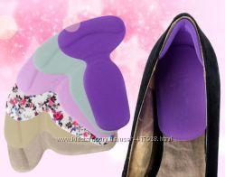 Новинка Силиконовые накладки в обувь под пятки и на задник обуви