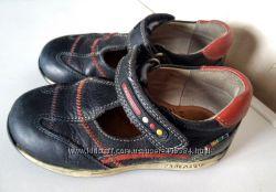 Кожаные закрытые туфли, сандалии Pablosky, р. 25, Испания, оригинал.
