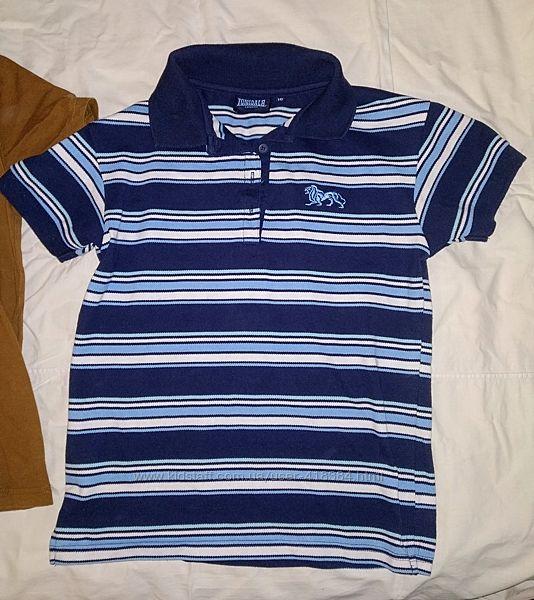 Фирменная футболка шведка поло Lonsdale мальчику 8-10 лет, . 140-146, идеал