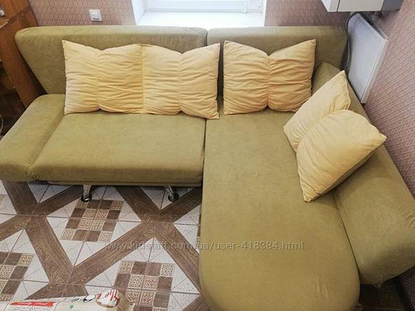 Угловой диван ЛВС Диана. Премиум качество. Уголок в отличном состоянии