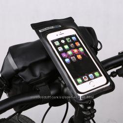 Чехол для смартфона Roswheel 111362 с креплением на вынос велосипеда