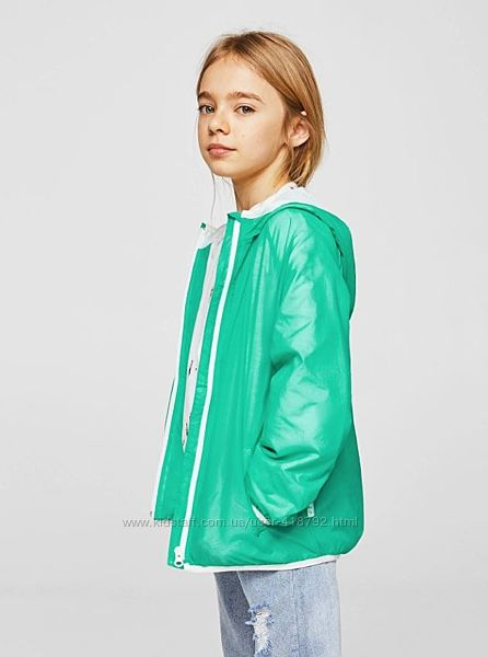 Куртка ветровка MANGO для девочки, р.5-6 лет