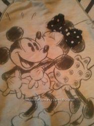 Легкий котоновый свитер Disney бу