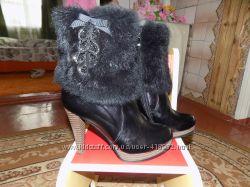 зимние ботиночки с мехом