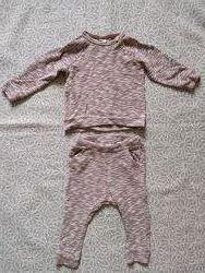 Хлопковый костюмчик H&M