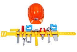 Набор инструментов с поясом и каской