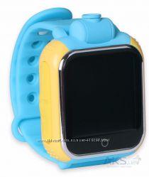 Детские смарт часы Smart Baby Watch Q 200 blue