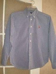 Рубашка  Ralph Lauren 12 лет.