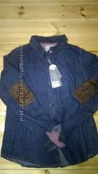 всего 550 р. новые модные рубашки, джинс, р-р 46