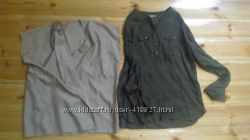четыре за 900р. шикарные блузки рубашки, р-р 46