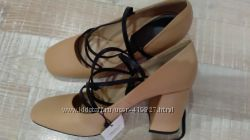всего 2000 р. новые туфли, кожа, Манго, р-р 39