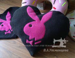 Подушка в стиле Playboy