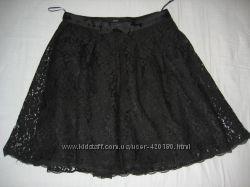Модная гипюровая юбка размер S, 36