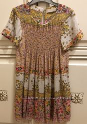 Летнее платье Zara на 9-10 лет бу