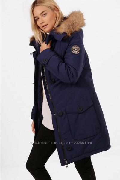 Удлиненная куртка-парка BooHoo