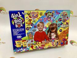 Big Creative Box 4 в 1 тесто, пластилин, кинетический песок