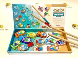 Деревянная игрушка Рыбалка CUBICA